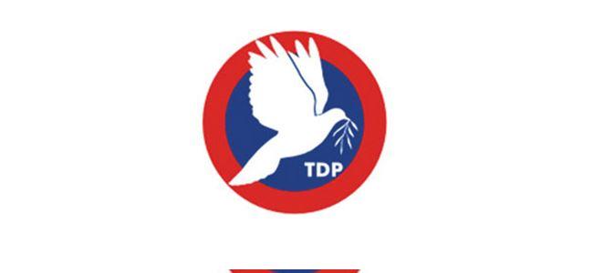 TDP Kurultayı 6 Aralıkta
