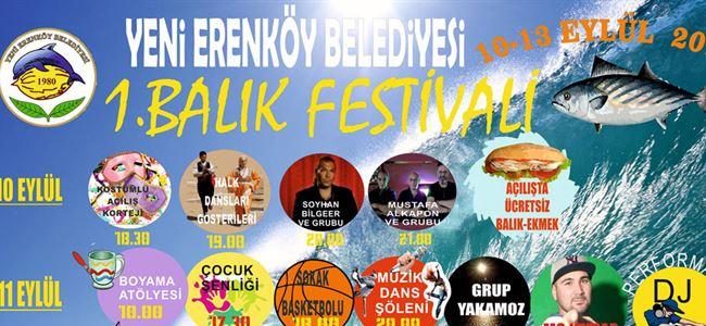 Yeni Erenköy'de Balık Festivali