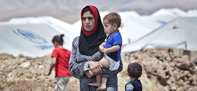 """Mültecilere """"daha insancıl şartlar"""""""