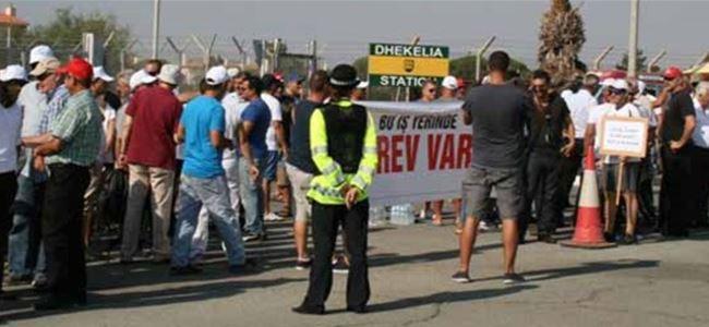 İngiliz üslerindeki grev sonlandırıldı