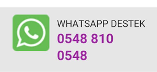 Telsim'den Whatsapp Destek Servisi