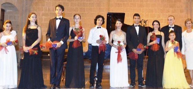 Genç Piyanistler hayranlıkla izlendi
