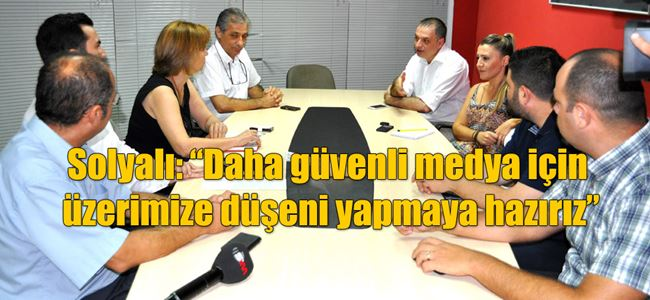 CTP MYK United Medya'yı ziyaret etti…