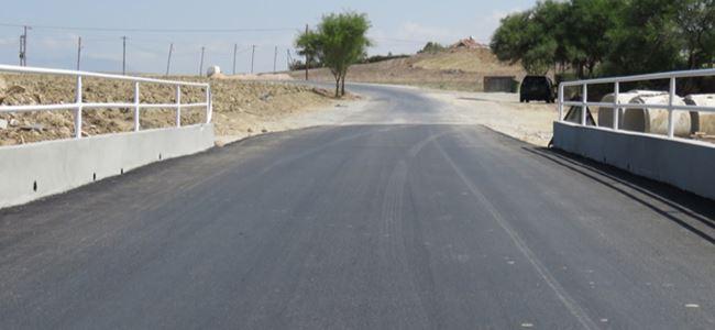 Kanlıköy köprüsü yenilendi