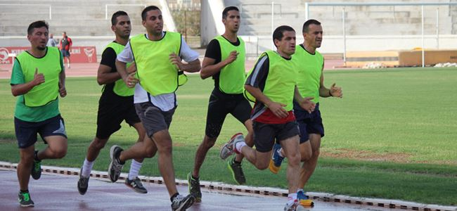 İlk atletik test yapıldı