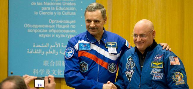 Uzayda bir yıl denemesi