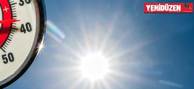 Sıcaklık 35 derece olacak