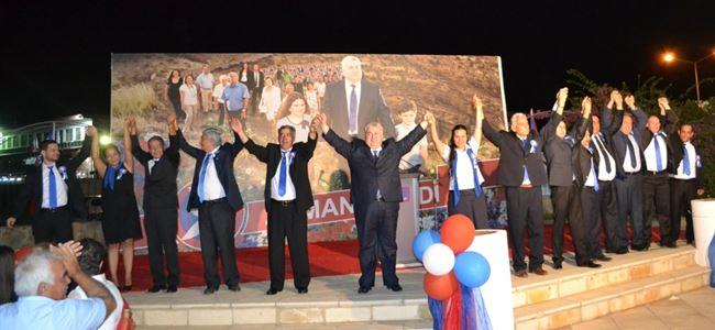 TDP Mağusa adayları tanıtıldı