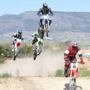 Kıbrıs'ta motosiklet hareketleri…