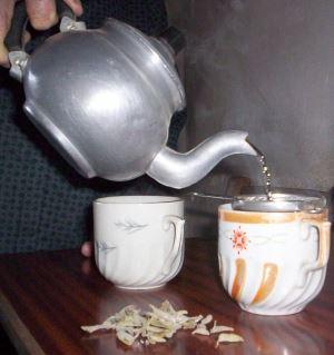 Kıbrıs mutfağında doğal çaylar