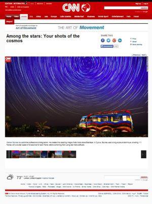 """Kıbrıslı Türk fotoğrafçı Gökhan Saymaz'dan önemli başarı: """"A Car's Dream"""" CNN'de"""