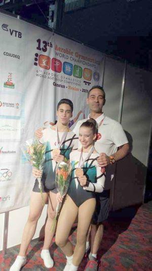 Türkiye ve Dünya jimnastiğinde rol alan bir Kıbrıslı Türk  Gürkan Er