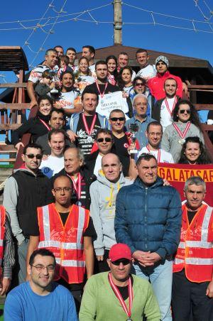 Kulaçlar Kış Maratonu'nda atıldı