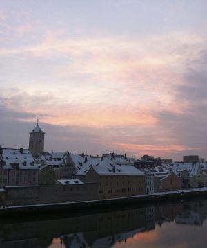 Sakin bir Avrupa kenti… Regensburg