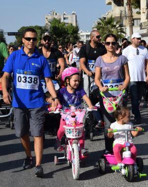 Lefkoşa sokakları maratonla renklendi