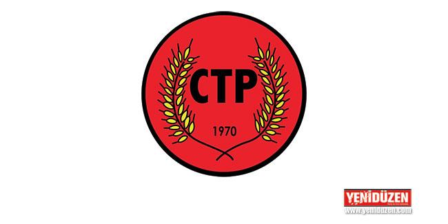 CTP: Çözüm için çalışmaya devam