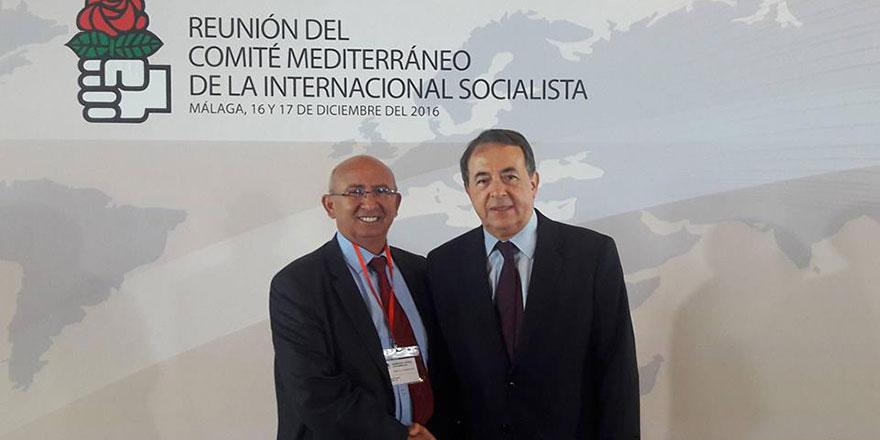 TDP, Sosyal Enternasyonal toplantısına katıldı