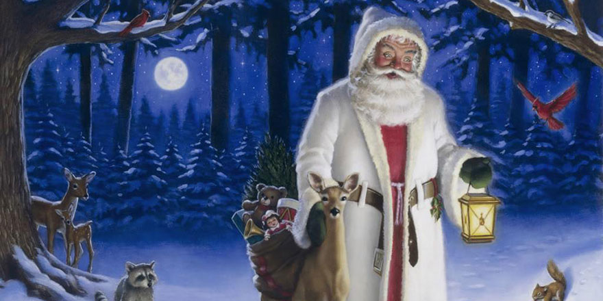 Noel Baba ve tüm meslektaşları