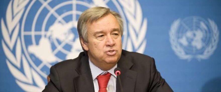 Guterres, BM Genel Sekreterliği görevine başladı