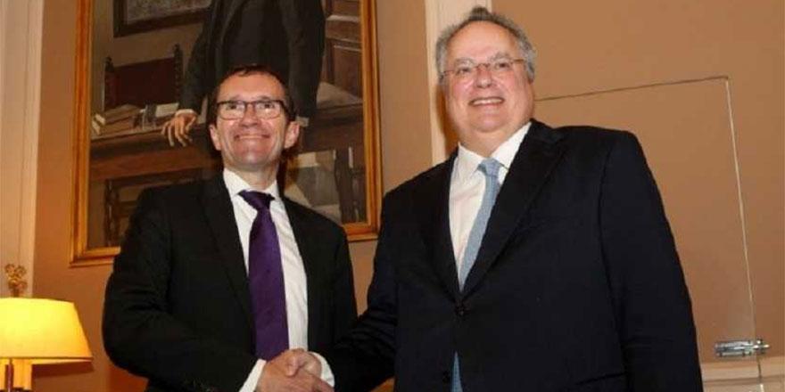 Eide, Yunanistan Dışişleri Bakanı Nikos Kocias ile görüştü.