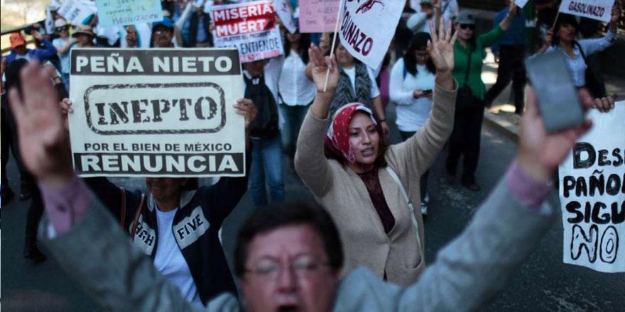 Benzin zammı protestolarında 6 ölü, 1.500 gözaltı