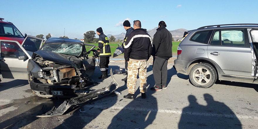 53 trafik kazası