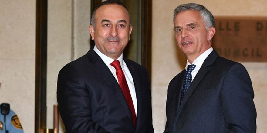 Çavuşoğlu, uluslararası konferansta konuştu