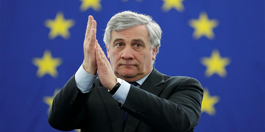 Yeni Başkant Tajani'den birlik vurgusu