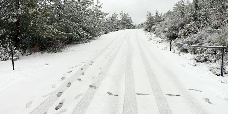 Kar kalınlığı 6 cm