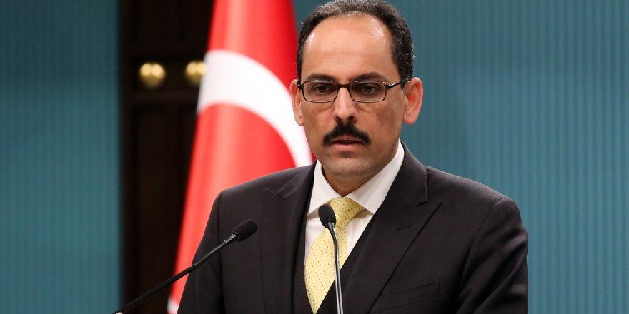 """Kalın: """"Kıbrıs meselesinde atmamız gereken adımları attık"""""""