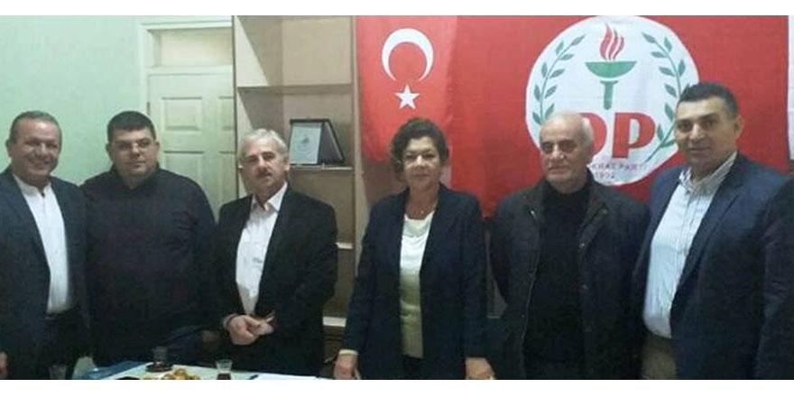 DP, Girne'de kitle toplantısı yaptı