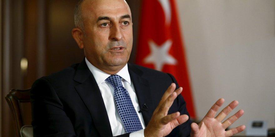 """Çavuşoğlu: """"Türkiye ve KKTC Kıbrıs'ta çözüm için kararlı"""""""