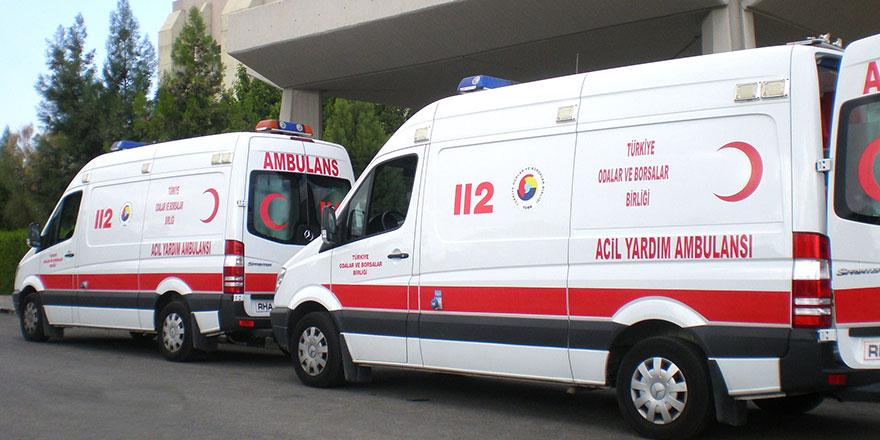 Ambulanstaki darp olayında 2 tutuklama