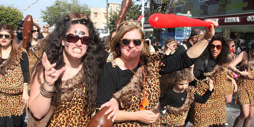 Limasol Karnavalı'ndan görkemli final