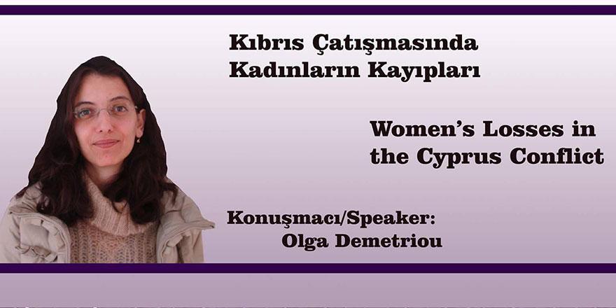 """Sister Speak to Me"" Konferansımızın bu yılki konuğu Olga Demetriou"