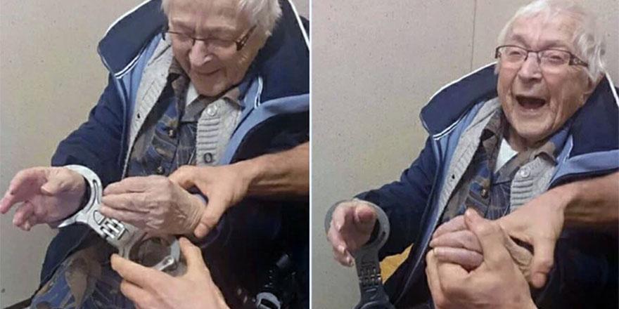 99 yaşında cezaevine girdi!