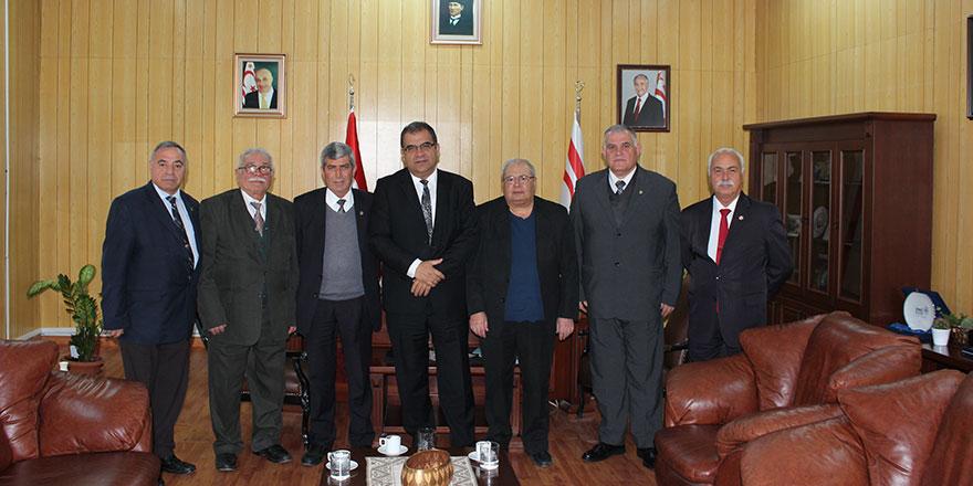 Sucuoğlu, Emekli Dernekleri'ni kabul etti