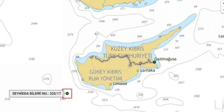 Türk Deniz Kuvvetleri'nden,  Baf açıklarında atış tatbikatı!