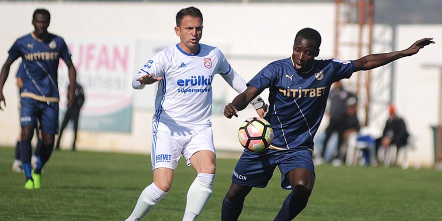 Mesarya'da gol sesi çıkmadı: 0-0