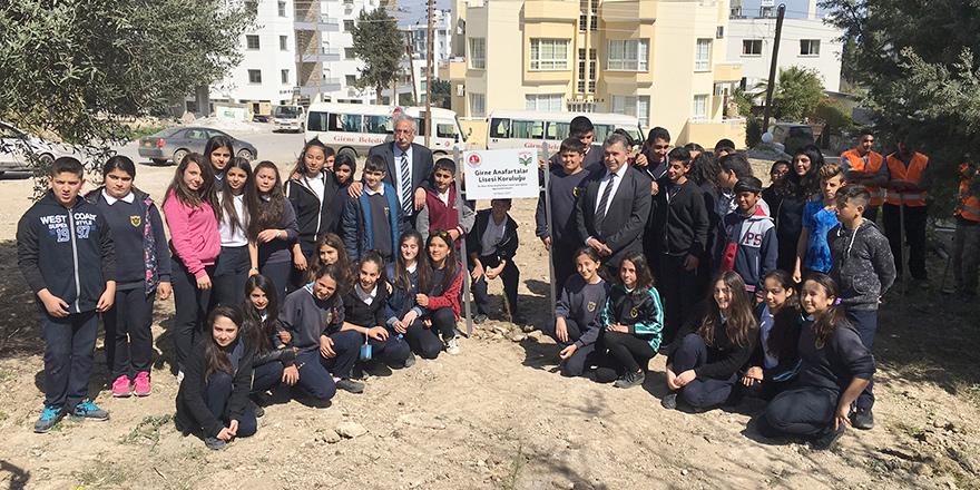 Girne Anafartalar Lisesi Koruluğu oluşturuldu