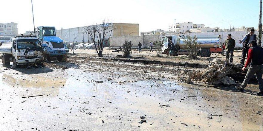 Azez'de bomba yüklü araçla saldırı