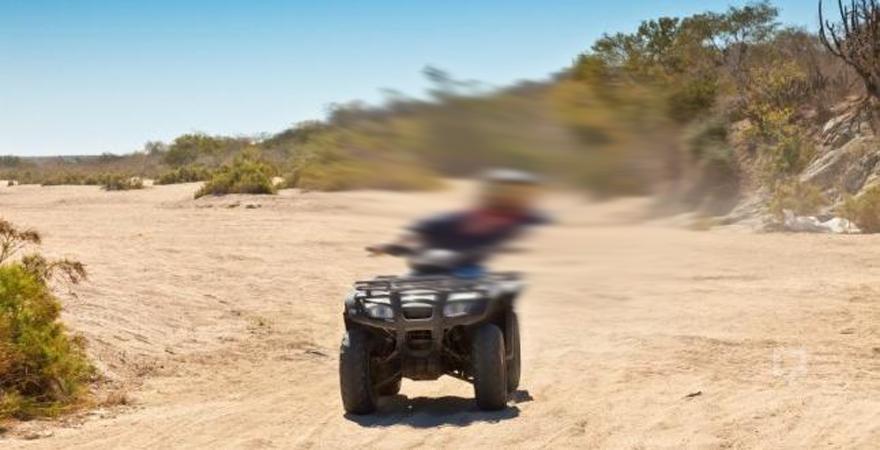ATV aracı dört parmağını kopardı
