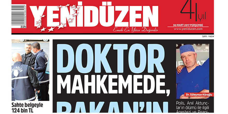 """""""Dr. Köroğlu tutuklanmadı, aleyhinde dava yoktur"""""""