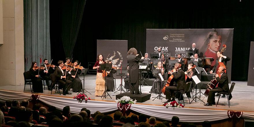 Cumhurbaşkanlığı Senfoni Orkestrası, Mersin'e gidiyor