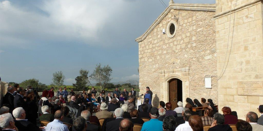 Maronit Kutsal Haç Kilisesi tamamlandı