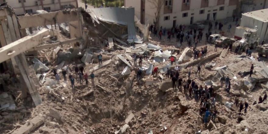 Diyarbakır'da patlama... 1 Ölü!