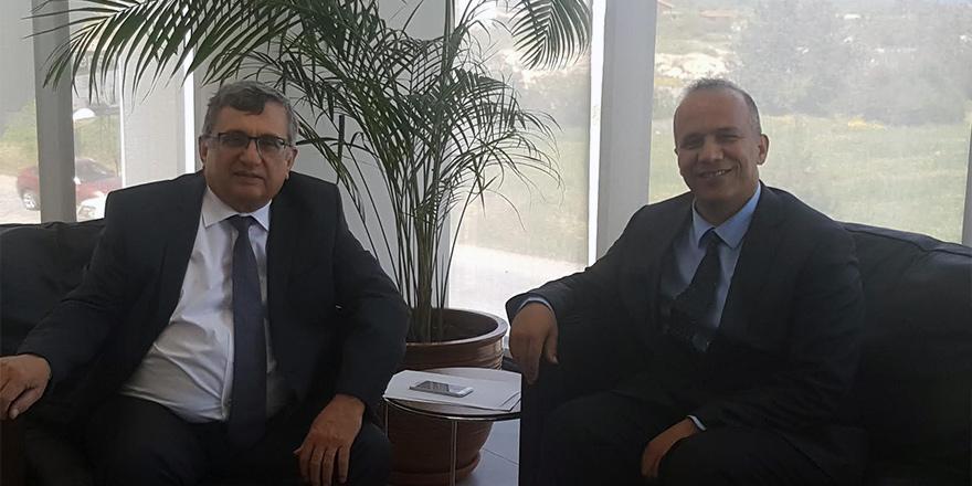 BTHK Başkanı Bürüncük, Uluslararası Final Üniversitesi'ni ziyaret etti