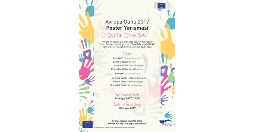 """""""Çeşitlilik İçinde Birlik"""" poster yarışması"""