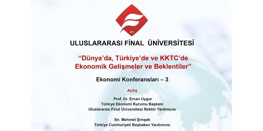 'Ekonomi Konferansı'  29 Nisan'da