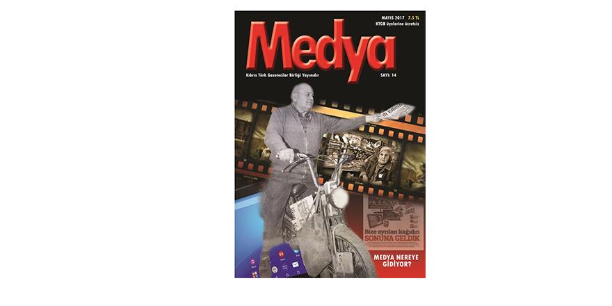 """""""Medya"""" dergisinin 14'üncü sayısı çıktı"""